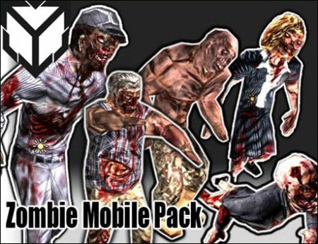 Zombie Low poly Pack