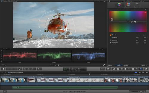 Final Cut Pro X 10.1.1 + Motion 5.1 + Compressor 4.1.1 (Mac OSX)