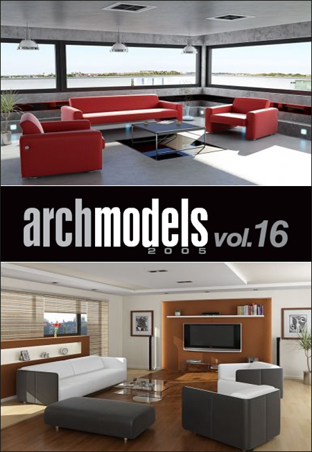 Evermotion – Archmodels vol. 16 (C4D)