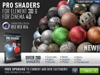 Videocopilot – Pro Shaders for C4D