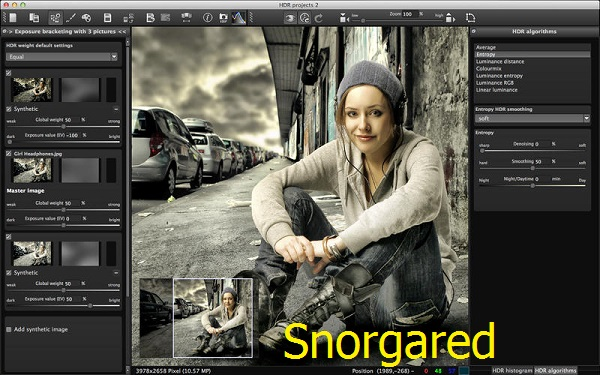 HDR projects 2.26.02132 (Mac OS X)
