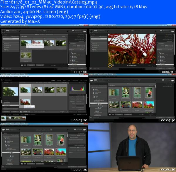 Working with Video in Lightroom with Richard Harrington