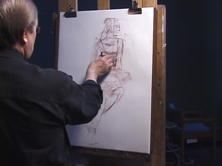 Robert T. Barrett - Life Drawing