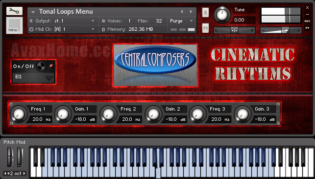Central Composers Cinematic Rhythms KONTAKT