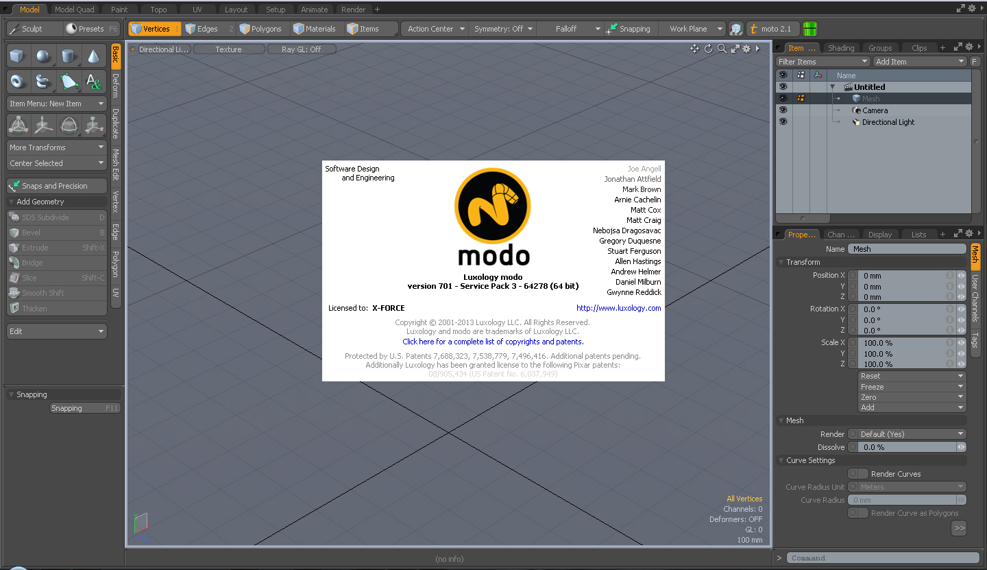 Foundry MODO 701 SP3 Build 64278