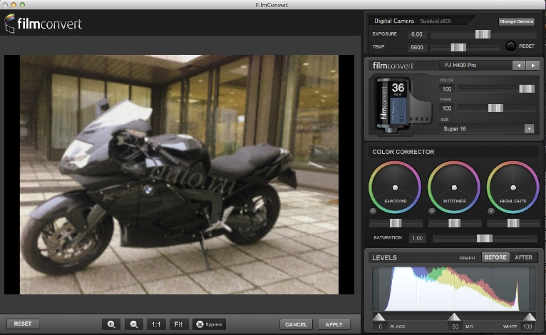 FilmConvert Pro Photoshop Plugin 1.0.4