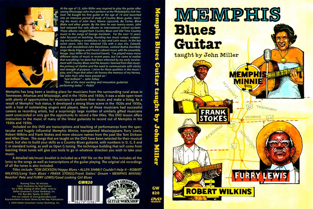 Grossman Guitar Workshop - John Miller  - Memphis Blues Guitar - DVD (2009)