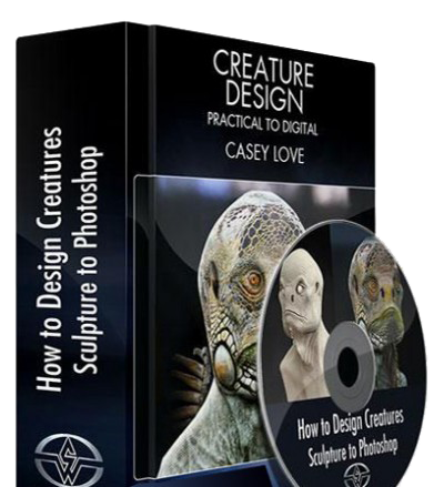 How to Design Creatures - Sculpture to Photoshop (2014)