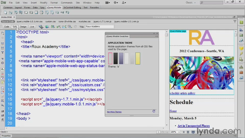 Dreamweaver CS6 New Features
