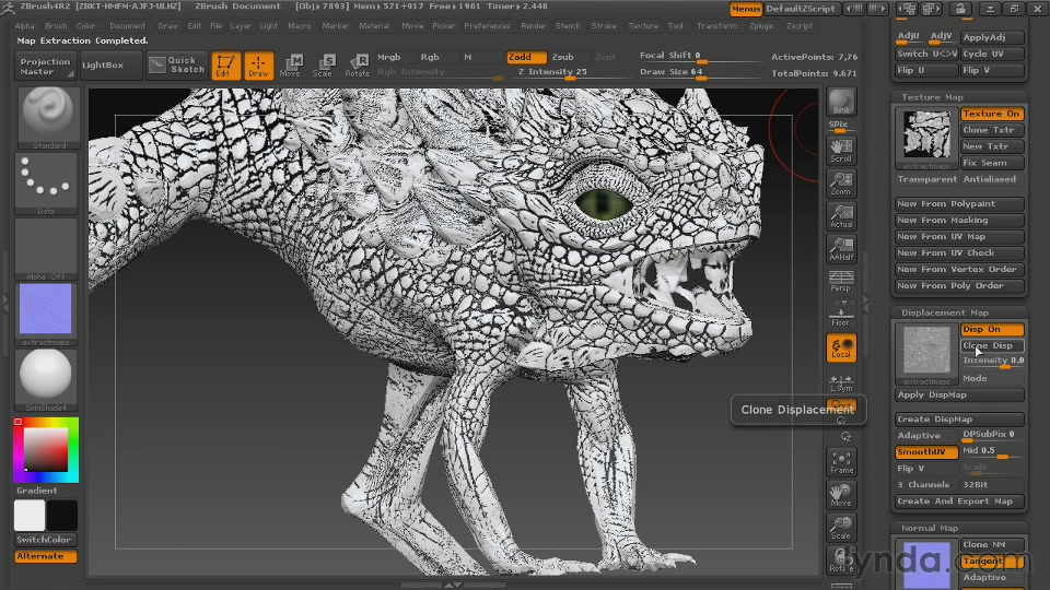 Digital Creature Creation in ZBrush, Photoshop, and Maya [repost]