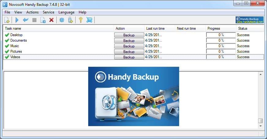 Novosoft Handy Backup 7.4.8.14222 Multilingual (x86)