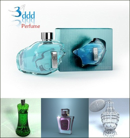 3DDD – Perfume Collection