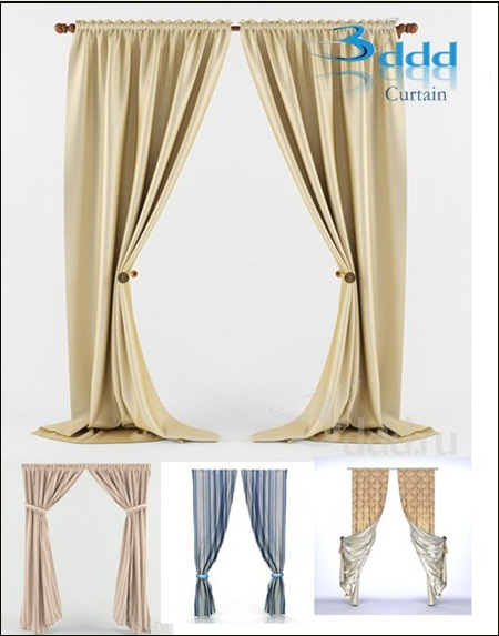 3DDD – Curtains Collection