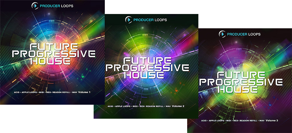 Producer Loops Future Progressive House MULTiFORMAT