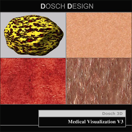 DOSCH DESIGN – Textures: Medical Visualization V3