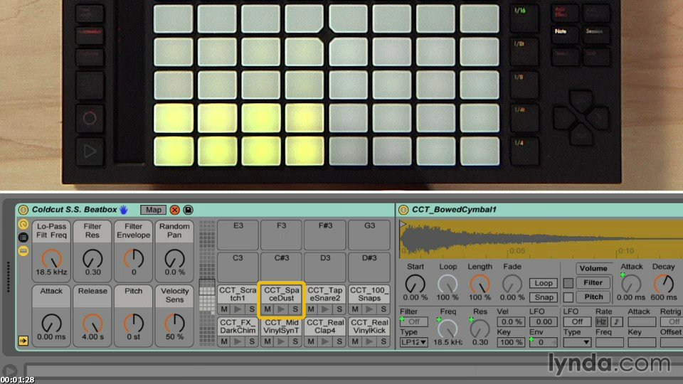Making Music with Ableton Push