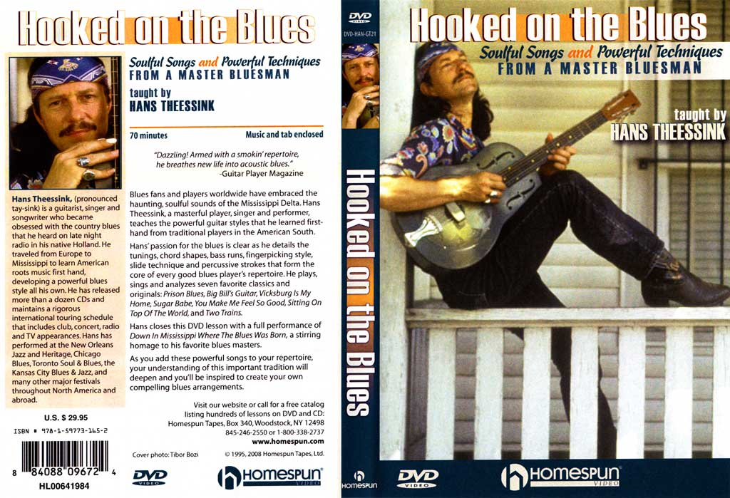 Homespun - Hans Theessink - Hooked On The Blues - DVD (2008)