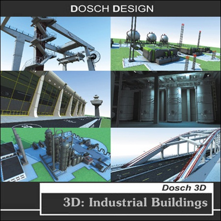 Dosch Design _ 3D : Industrial Buildings