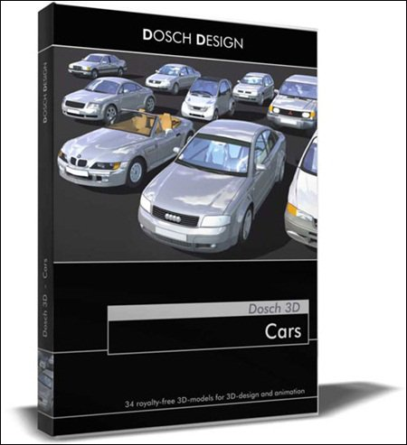 Dosch 3D Cars (14 Hi-poly models for 3Ds Max)