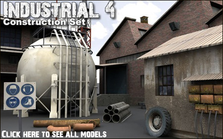 DEXSOFT-GAMES : Industrial 4. model pack