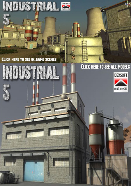 DEXSOFT-GAMES – Industrial 5. model pack