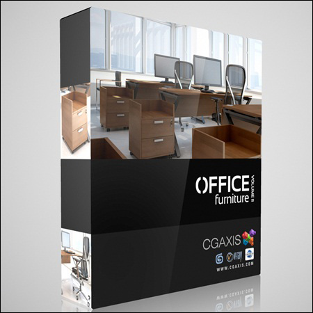 CGAxis _ Models Office Furniture Volume 11