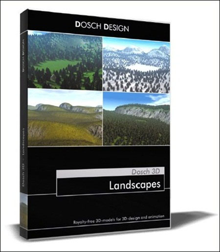 Dosch Design:3D _ Landscapes CD1