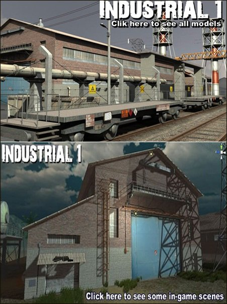 DEXSOFT-GAMES – Industrial 1. model pack