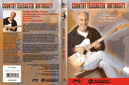 Homespun - Ray Flacke - Country Telecaster Virtuosity [repost]