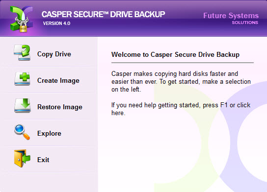 Casper / Secure Drive Backup 8.0.4422  / 4.0.4422 Retail