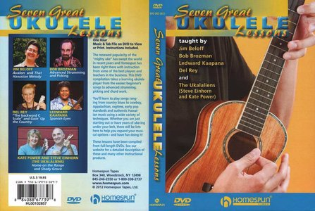 Homespun - Seven Great Ukulele Lessons [repost]