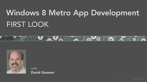 Windows 8 Metro App Development First Look