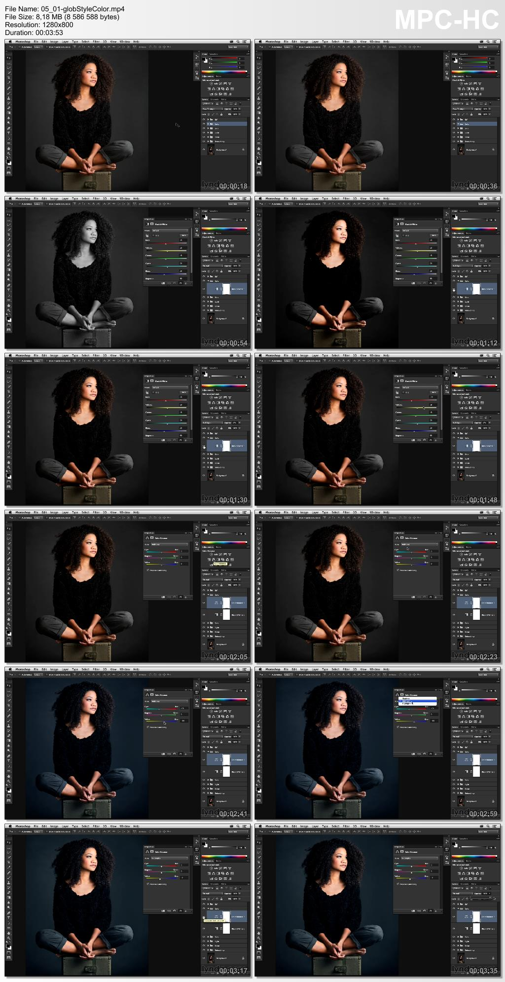 Lynda - Portrait Project: Retouching a Studio Portrait