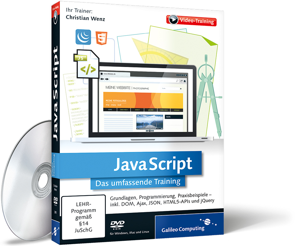 JavaScript 2014 Das umfassende Training