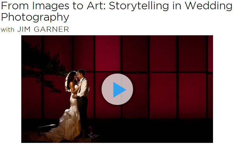 creativeLIVE - From Images to Art - Storytelling in Wedding Photography HD