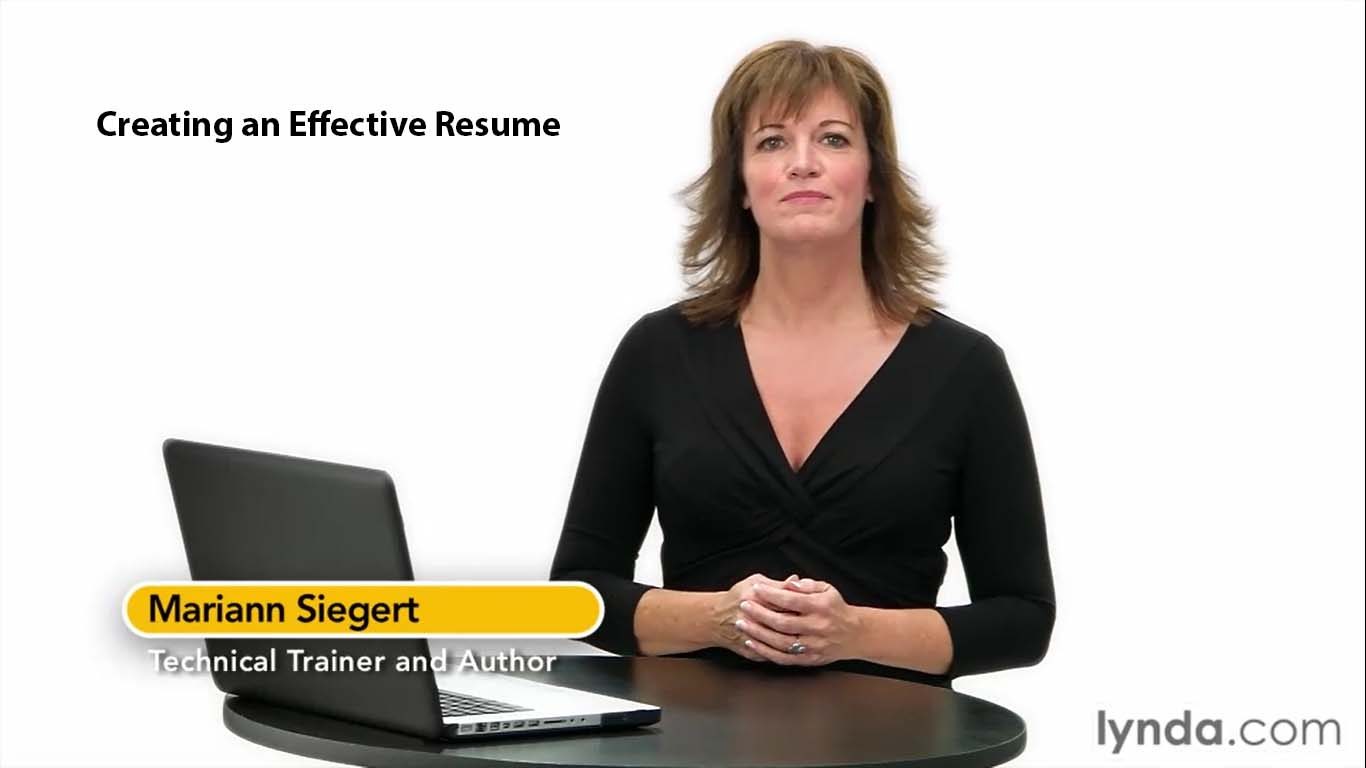 Creating an Effective Resume (Repost)