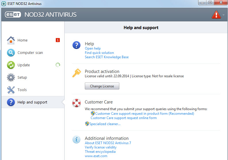 ESET NOD32 Antivirus & Smart Security 7.0.317.4