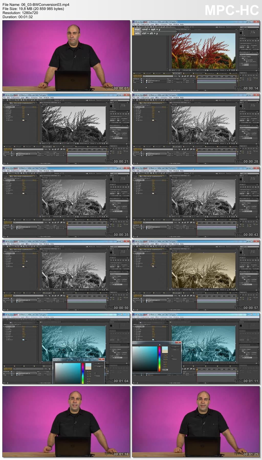 Lynda - After Effects Guru: Color Grading Footage