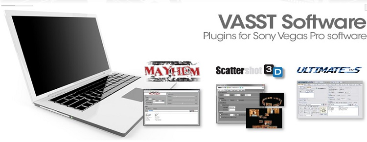 Vasst Software Plugins For Sony Vegas Pro Software (2014)