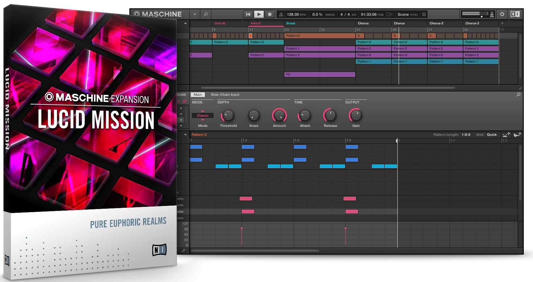 Native Instruments Maschine Expansion Lucid Mission WIN OSX PROPER