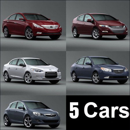 5 CG River Car models