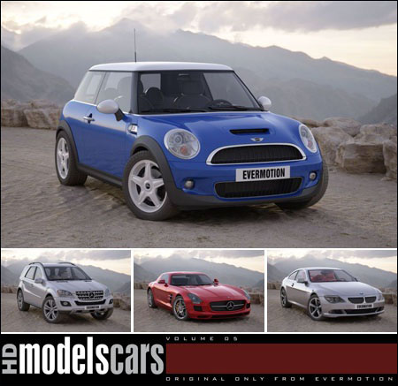 Evermotion - HD Models Cars vol. 5