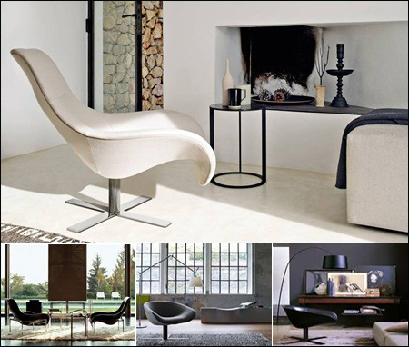 B&B Italia 3D Sofas & Armchair Collections
