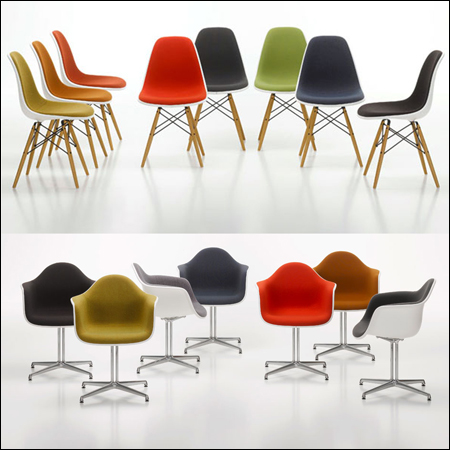 12 Vitra (Eames) Chairs