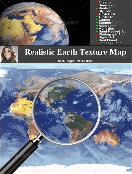 Earth Texture map