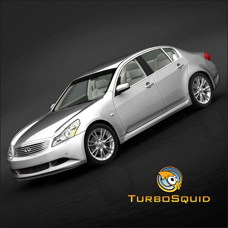 TurboSquid – Infiniti G37 Sedan 2009