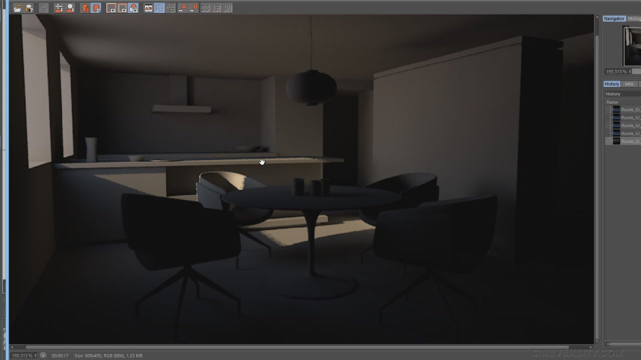 Cineversity - Cinema 4D R15: Global Illumination (2014)