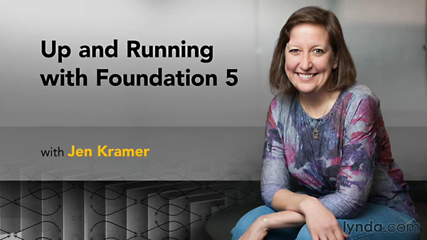 Lynda - Up and Running with Foundation 5