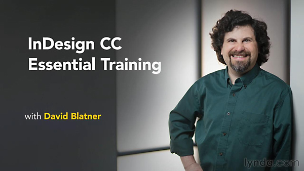 Lynda - InDesign CC Essential Training (Updated Jun 18, 2014)