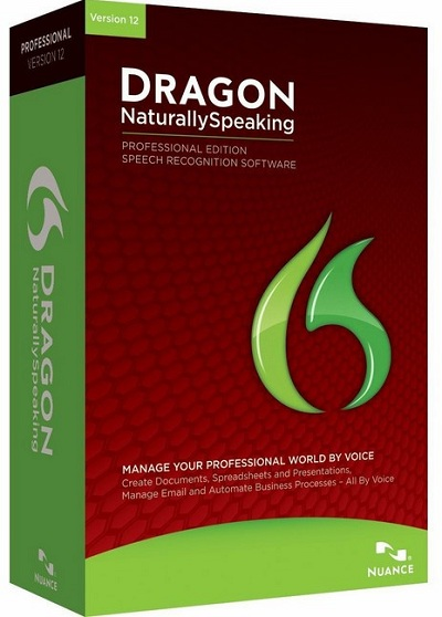 Nuance Dragon NaturallySpeaking v12.50.000.142 Professional Edition (English - German)